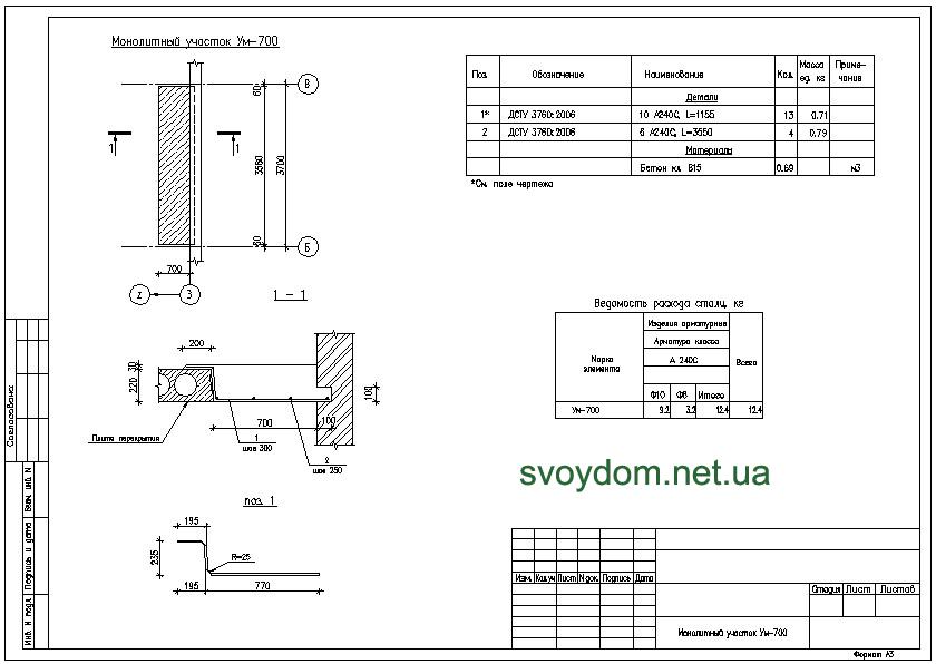 Схема армирования стен dwg Сваи Армирование