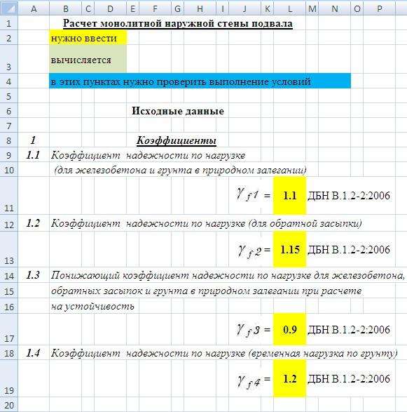 Калькулятор стоимости фундамента Подольский район